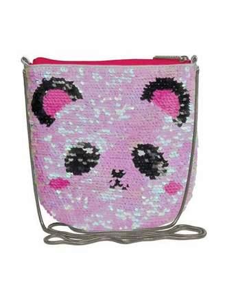 Iscream Kids' Panda Sequin Crossbody Bag