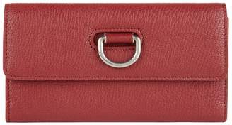 Burberry Leather D-Ring Wallet