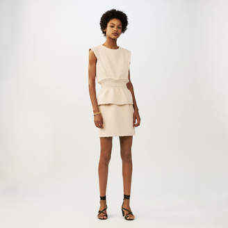 Maje Sleeveless tweed dress