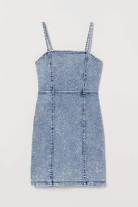 H&M Fitted Dress - Blue