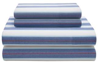 Tommy Hilfiger Preppy Stripe Sheet Set