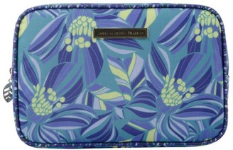 Anna Martina Franco Large Square Clutch, Tropical Flower
