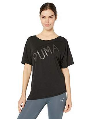 Puma Women's Holiday Drapey Tee
