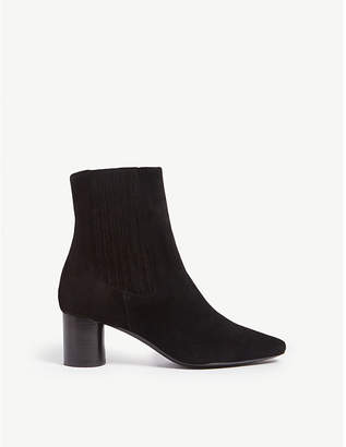 Sandro Luka suede ankle boots