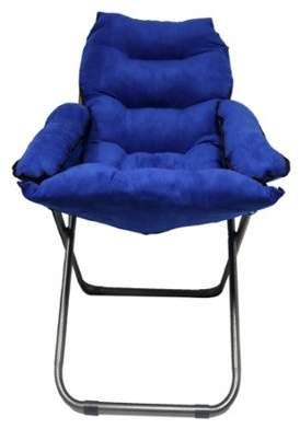 DormCo Club Chair - Plush & Extra Tall - Blue