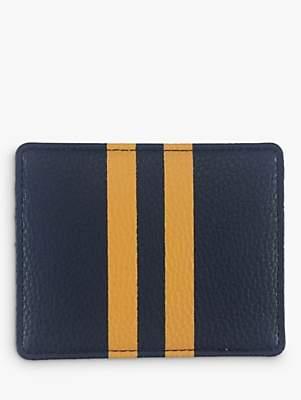 Foxx Smith London Orange Stripe Men's Card Holder