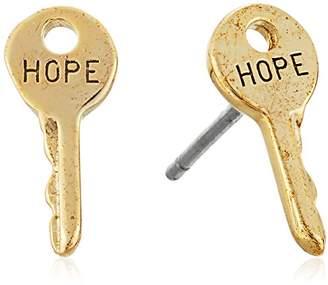 The Giving Keys Mini Key Stud Earrings DREAM