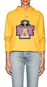 Balmain for Beyoncé Women's Unisex Cotton Terry Hoodie - Yellow