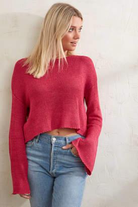 MinkPink New City Knit Sweater Berry S