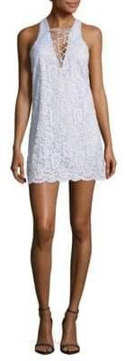 Lovers + Friends Escape Lace Mini Dress