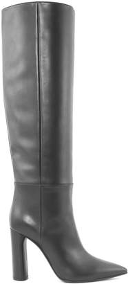Casadei Black Leather Boots