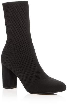 Kenneth Cole Women's Alyssa Stretch Knit High Heel Booties