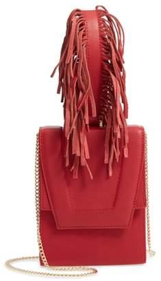 Danielle Nicole Alivia Leather Clutch