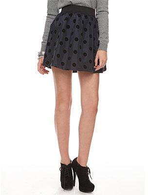Polka Dot Taffeta Skirt