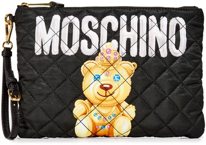 MoschinoMoschino Little Bear Clutch