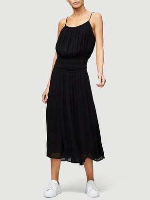 Frame Gathered Waist Dress