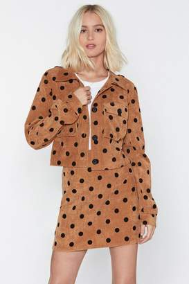 Nasty Gal Spot By Sometime Polka Dot Jacket