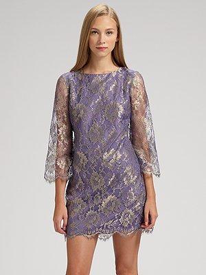 Tibi Magnolia Lace Dress