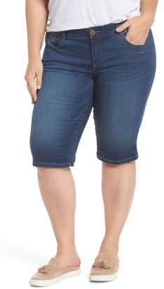 Wit & Wisdom Ab-solution Denim Bermuda Shorts