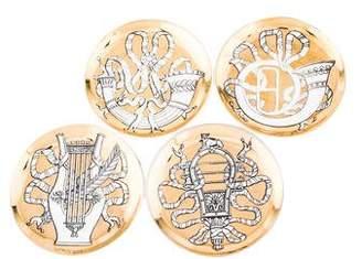 Fornasetti Set of 4 Vintage Musicalia Coasters