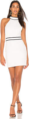 Endless Rose Piping Detail Halter Dress in White $84 thestylecure.com