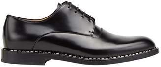 Fendi metallic trim oxford shoes