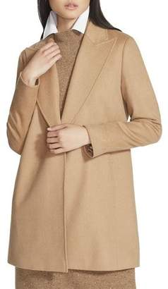 Lafayette 148 New York Kourt One-Button Camel Hair Jacket