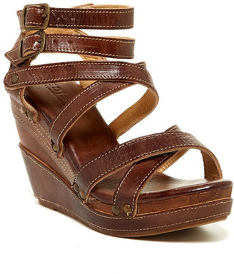 Bed|Stu Juliana Leather Wedge $155 thestylecure.com