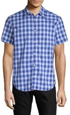 Calvin Klein Jeans Plaid Short-Sleeve Shirt