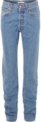 Helmut Lang High-rise Straight-leg Jeans - Indigo
