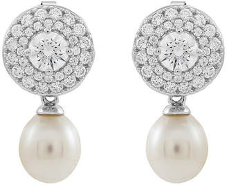Honora LEGACY LIMITED QUANTITIES! Legacy White Cultured Freshwater Pearl Sterling Silver Drop Earrings