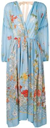Semi-Couture Semicouture floral print maxi dress