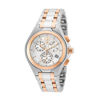 Technomarine TECHNO MARINE Techno Marine Womens Two Tone Bracelet Watch-Tm-215020