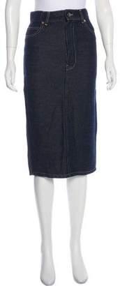 Raey Denim Midi Skirt