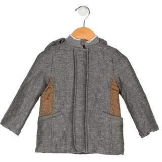 Fendi Boys' Hooded Zucca Coat