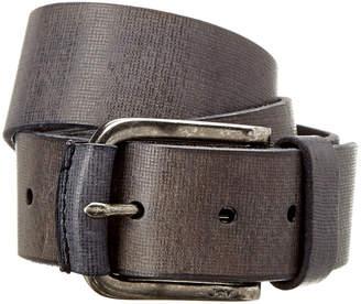 John Varvatos Adjustable Leather Belt