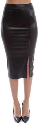 Warehouse ATM Sparkle Zipper Skirt