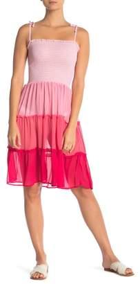 BLEU by Rod Beattle Smocked Bandeau Dress