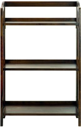 Casual Home Stratford 3-Shelf Folding Bookcase