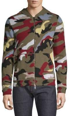 Valentino Camouflage Cashmere Hoodie