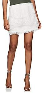 IRO Women's Pixy Cotton-Blend Lace Miniskirt