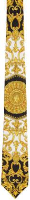 Versace Multicolor Baroque Tie