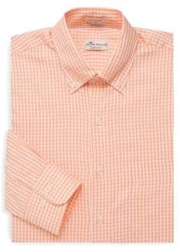 Peter Millar Crown Gingham Button-Down Shirt