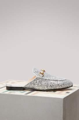 Gucci Glittering Princetown Mules