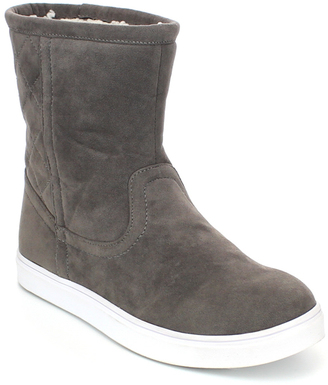 Gray Junior Faux Shearling Boot $45.99 thestylecure.com