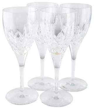 Waterford Set of 4 Lismore Nouveau Water Goblets Set of 4 Lismore Nouveau Water Goblets