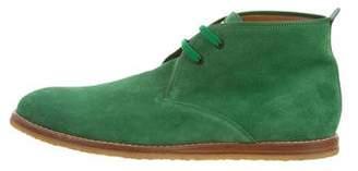 Louis Vuitton Suede Desert Boots