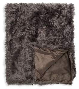 Safavieh Faux Fur Throw Blanket