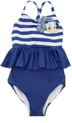 MonnaLisa Donald Duck Lycra One Piece Swimsuit