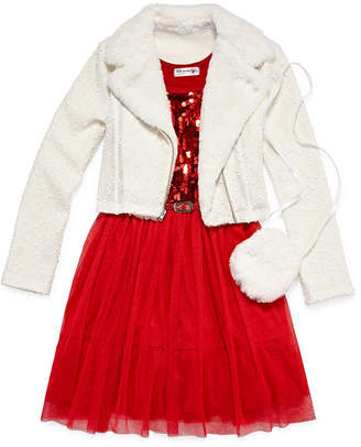 Knitworks Knit Works 2-pc. Jacket Dress Girls